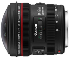 Canon 8-15mm f4.0L Fisheye Zoom Image