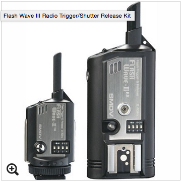 FlashWave System – 1 Trigger & 4 Receivers Image