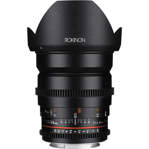 Rokinon 24mm T1.5 CINE Lens (Nikon mount) Image