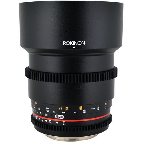 Rokinon 85mm T1.5 CINE Lens (Nikon mount) Image