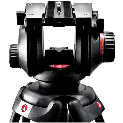 Manfrotto 504 HD Video Tripod with 546B Legs Image
