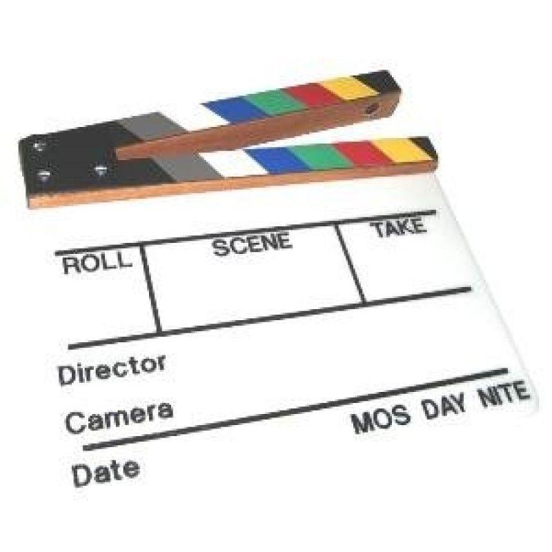 Sobrante Coloured Clapper Board Image