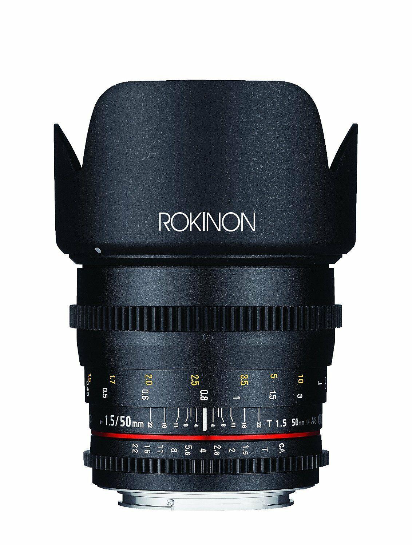 Rokinon 50mm T1.5 CINE (Nikon Mount) Image