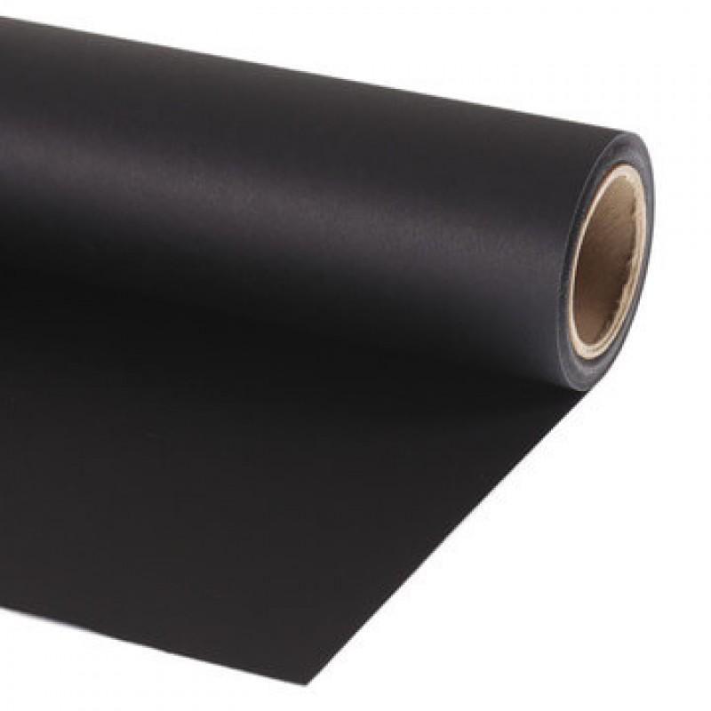 Black Paper Roll Backdrop (Jet Black) 2.7m Wide Image