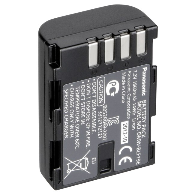 Panasonic Batteries - Model DMW-BLF19E Image