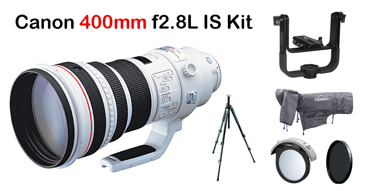 Canon 400mm f2.8L IS Prime Lens Kit Image