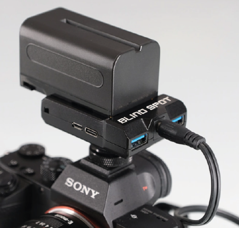Power Junkie Sony NP-F to Canon LP-E6 Adapter Image