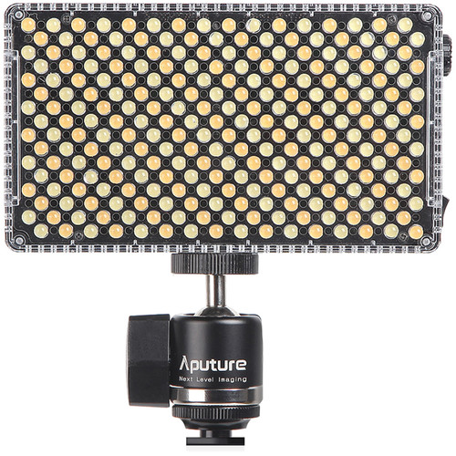 Aputure Amran AL-F7 On-Camera LED Light Image