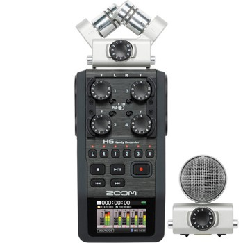 Zoom H6 6-Channel Audio Recorder Image