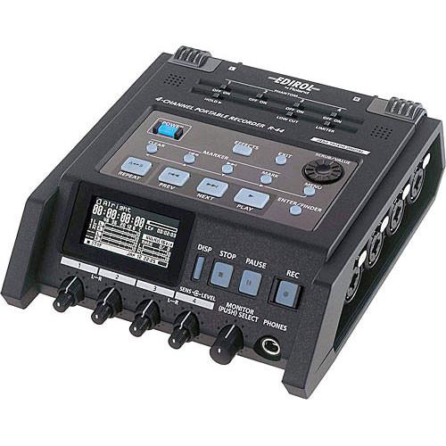 Roland Edirol R-44 Audio Recorder Image