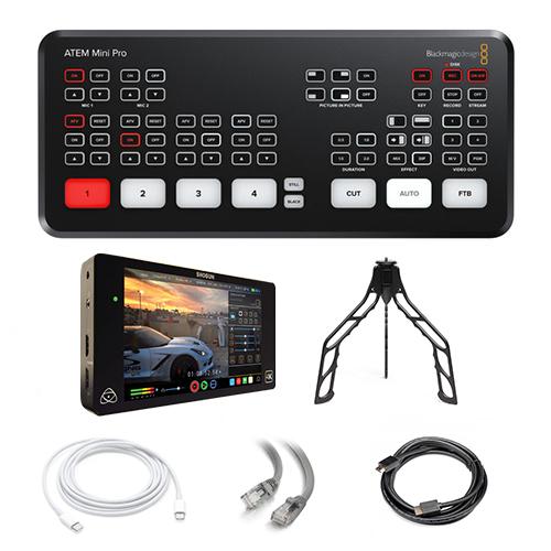 Atem Mini Pro Live Streaming Switcher (Streaming Kit) Image