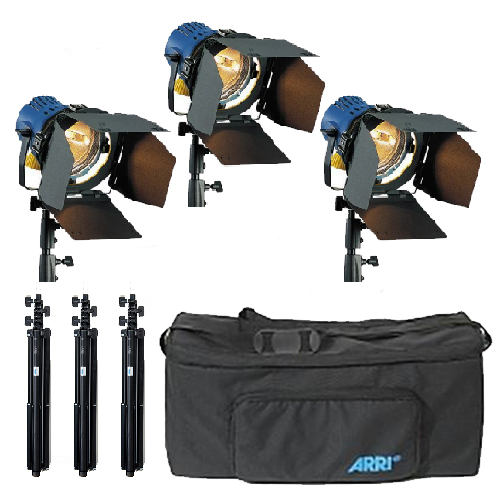Arrilite 800 3x Tungsten Light Kit Image