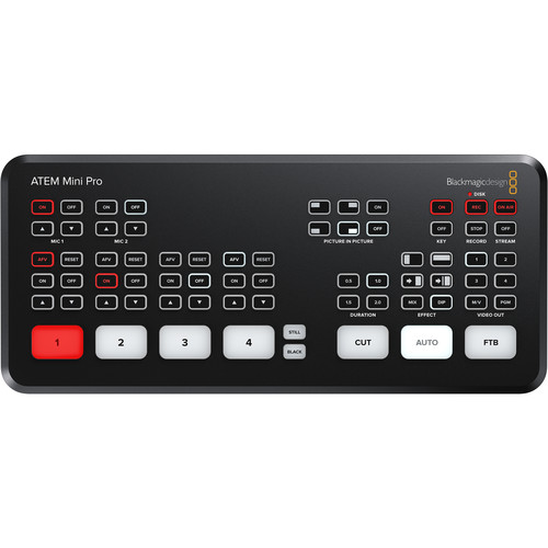 Atem Mini Pro Live Streaming Switcher (Switcher Only) Image